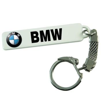 """Брелок гос. номера с надписью """"BMW"""""""