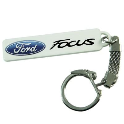 """Брелок гос. номера с надписью """"Ford Focus"""""""
