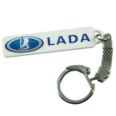 """Брелок гос. номера с надписью """"LADA"""""""