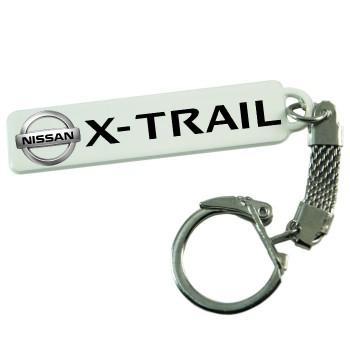 """Брелок гос. номера с надписью """"Nissan X-Trail"""""""