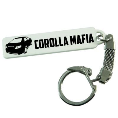 "Брелок гос. номера с надписью ""Corolla mafia"""
