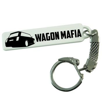 """Брелок гос. номера с надписью """"WAGON MAFIA"""""""