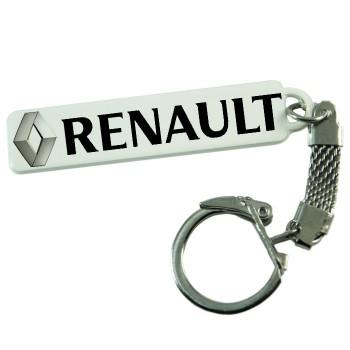 """Брелок гос. номера с надписью """"Renault"""""""