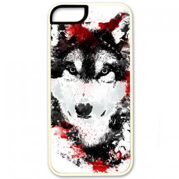 Кровавый волк IPhone 5 (резина)