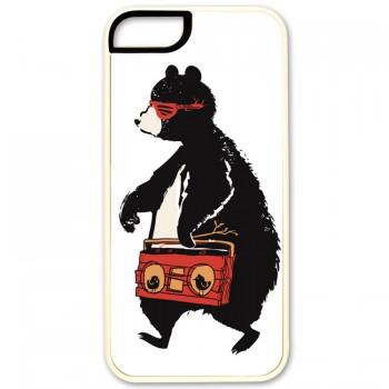 hip hop медведь IPhone 5 (резина)