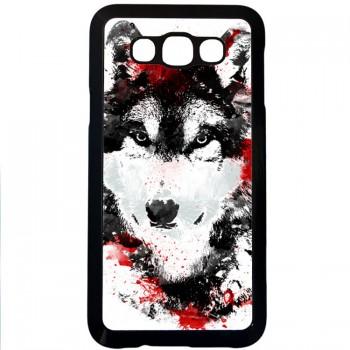 Кровавый волк Samsung Galaxy E7 (пластик)