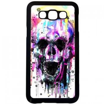 Цветной череп Samsung Galaxy E7 (пластик)