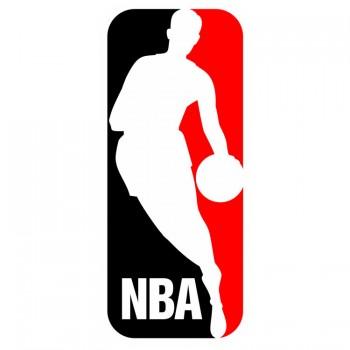 NBA, наклейка (23x10см)