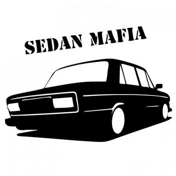 SEDAN MAFIA, наклейка (25x17см)