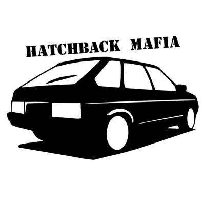 """Наклейка """"HATCHBACK MAFIA"""""""