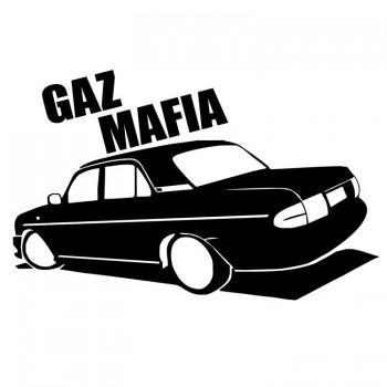 GAZ MAFIA, наклейка (25x17см)