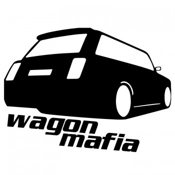 WAGON MAFIA, наклейка (25x17см)