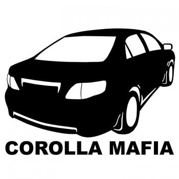 COROLLA MAFIA, наклейка (25x17см)