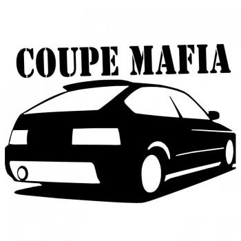 COUPE MAFIA, наклейка (25x17см)