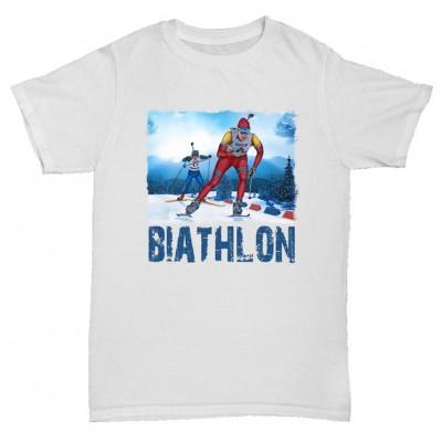 "Футболка ""Biathlon"""