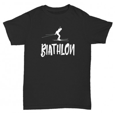 "Футболка ""Biathlon black"""