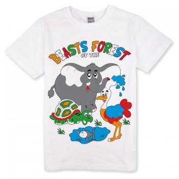 "Футболка детская ""Beasts Forest"""