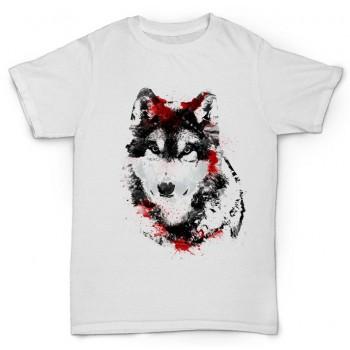 """Футболка """"Кровавый волк"""""""