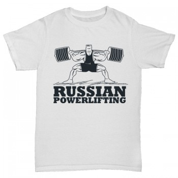 "Футболка ""RUSSIAN POWERLIFTING"""