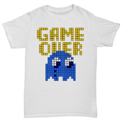 "Прикольная футболка ""GAME OVER"""